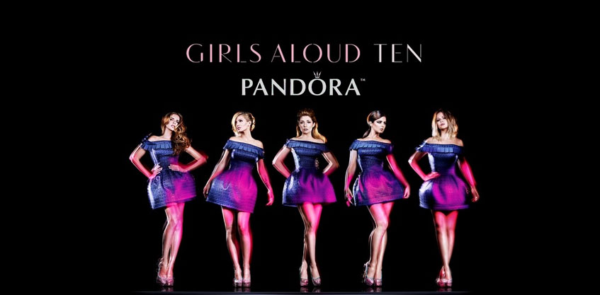 8lbs Girls Aloud Pandora Campaign